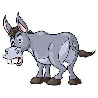 Dibujos animados de burro