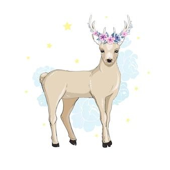 Dibujos animados de ciervos