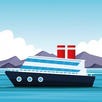 Dibujos animados de cruceros