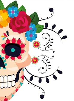 Dibujos animados de la cultura mexicana