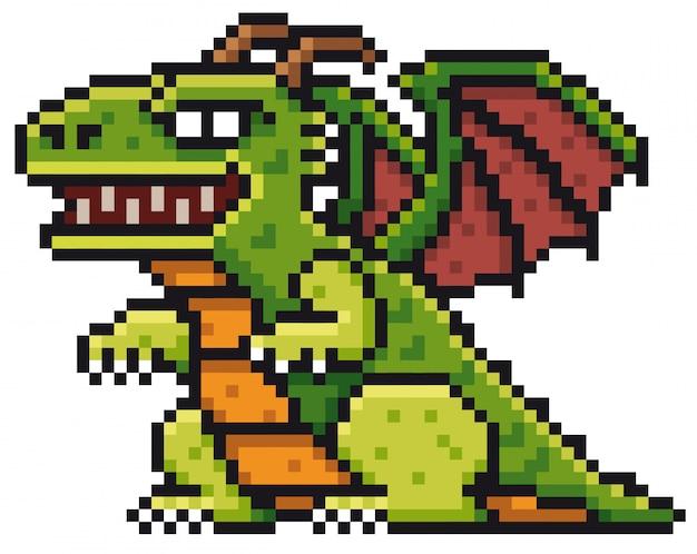 Dibujos animados dragon