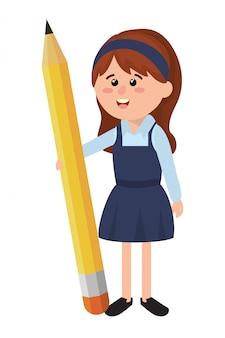 Dibujos animados de la escuela primaria