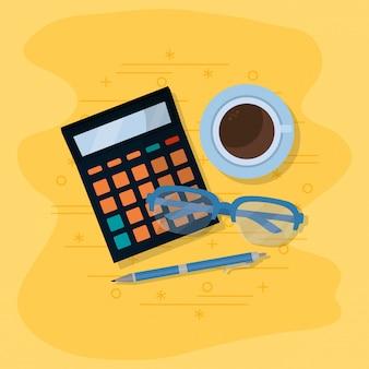 Dibujos animados de finanzas personales