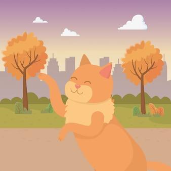 Dibujos animados de gato
