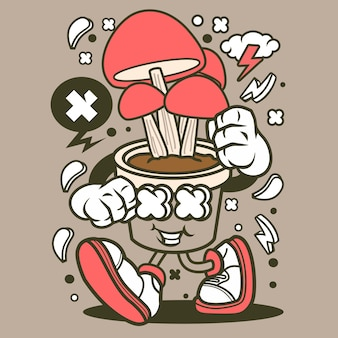 Dibujos animados de hongos