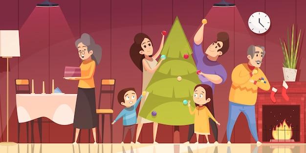 Dibujos animados de navidad