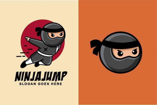 Dibujos animados ninja