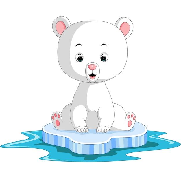 Dibujos animados de oso polar