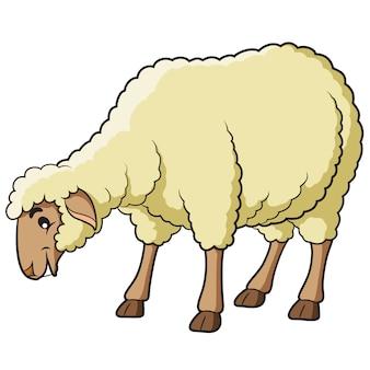Dibujos animados de ovejas
