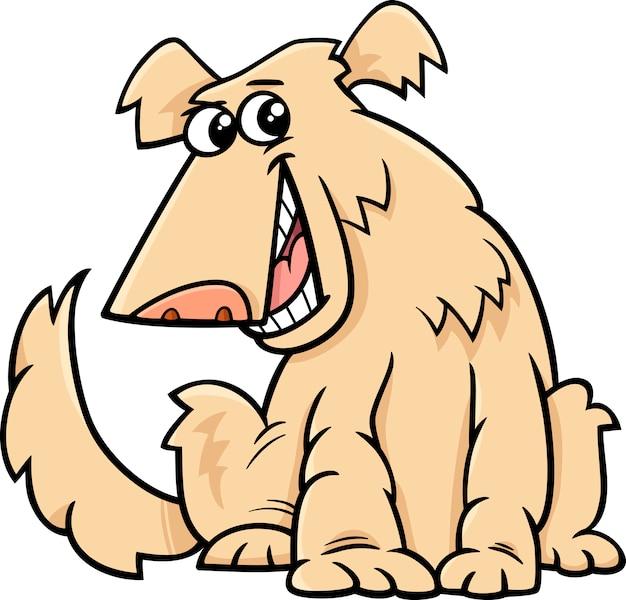 Dibujos animados de perro lanudo