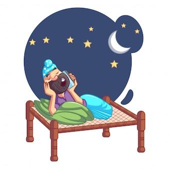 Dibujos animados punjabi sardar