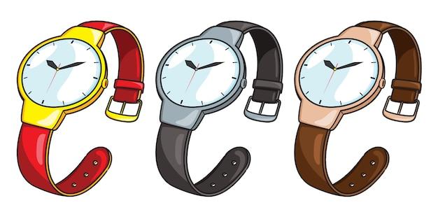 Dibujos animados de reloj de pulsera
