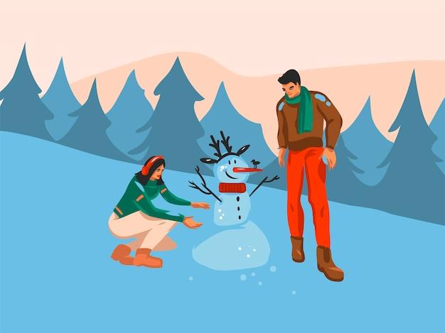 Dibujos animados con temática navideña