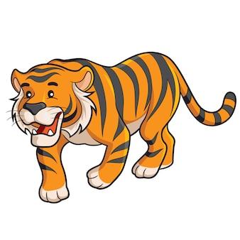 Dibujos animados de tigre