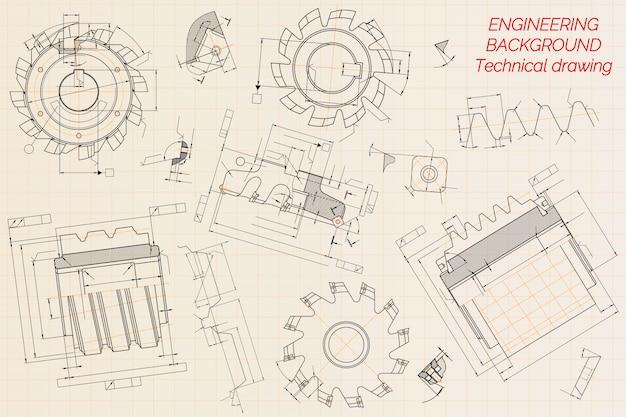Dibujos de ingeniería mecánica