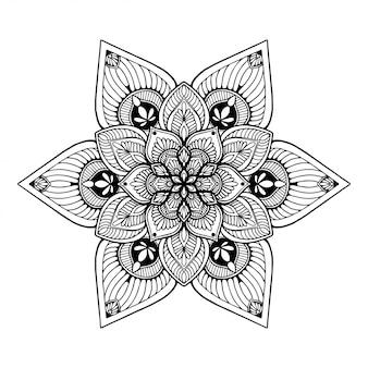 Dibujos de mandalas, terapia oriental, yoga.