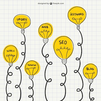 Dibujos de marketing digital