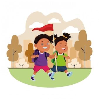 Dibujos para niños y campamentos de verano
