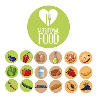 Dieta de productos de ingredientes alimenticios nutricionales
