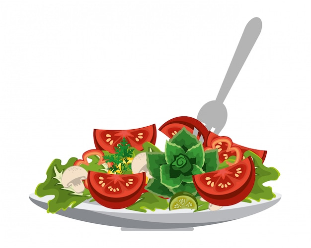 Dieta saludable vegetal