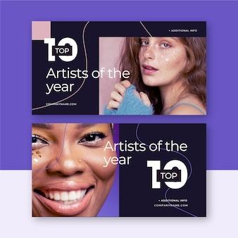 Los diez mejores banners de calificación con foto