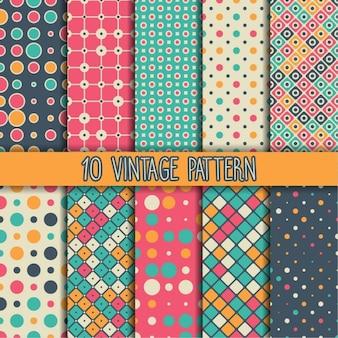 Diez patrones vintage