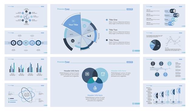 Diez plantillas de diapositivas de gestión establecidas