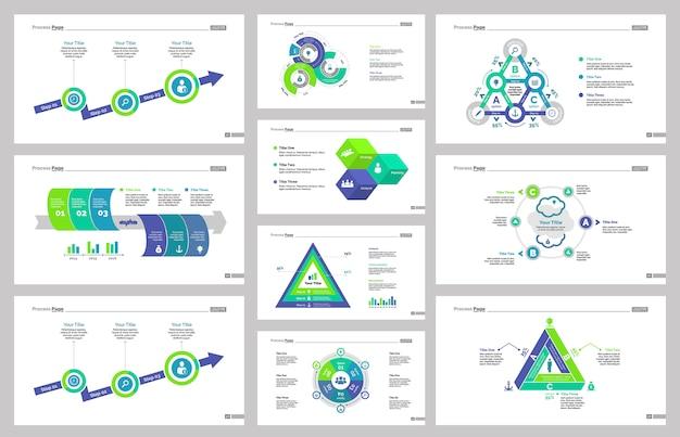 Diez plantillas de diapositivas de negocios