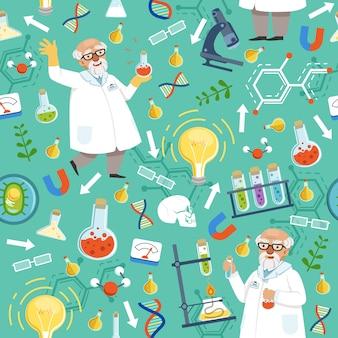 Diferentes herramientas químicas o biológicas.
