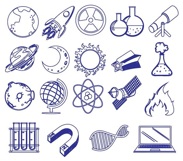 Diferentes imágenes de ciencia
