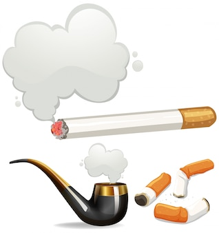 Diferentes tipos de cigarrillos