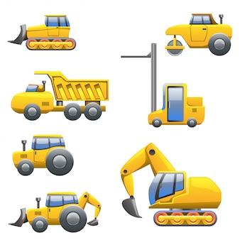Diferentes tipos de tractores.