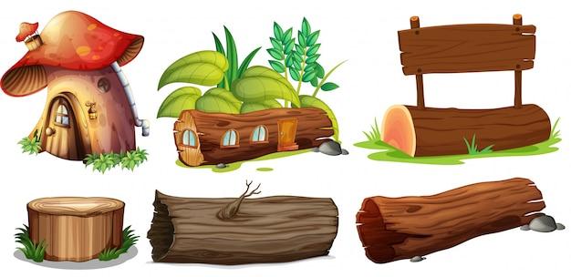 Diferentes usos de maderas