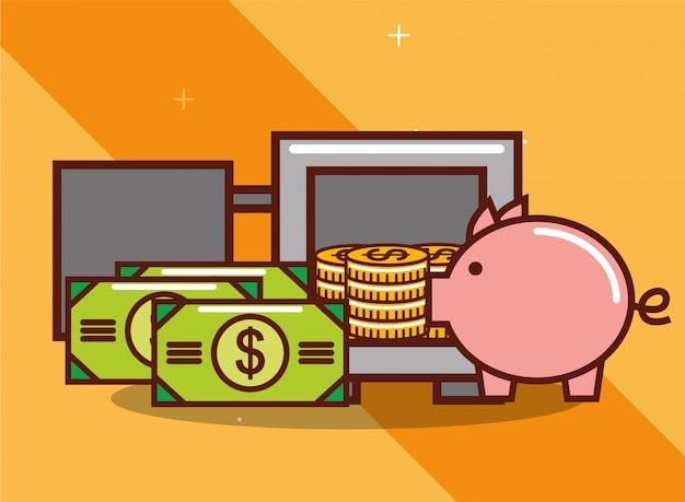 Dinero de la alcancía