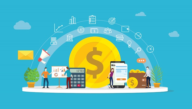 Dinero de crecimiento financiero