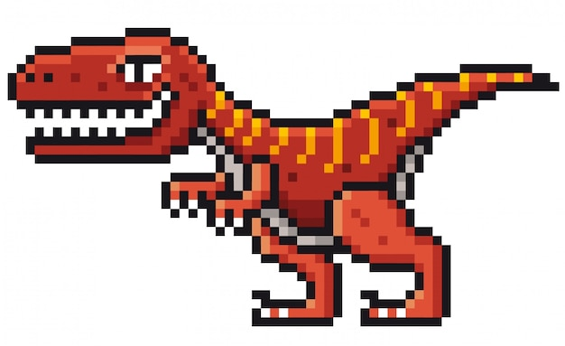 Dinosaurio de dibujos animados