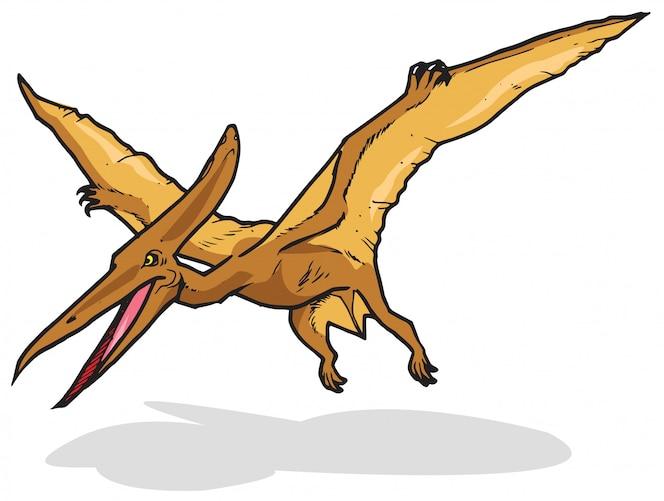 Dinosaurio Pterodactilo Vector Premium Este programa me gustó, es como una ventana a como veían en los 1990s las discusiones sobre el origen de las aves. dinosaurio pterodactilo vector premium