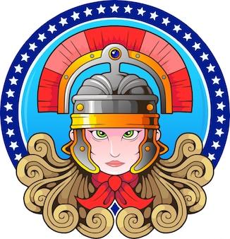 Diosa griega atenea