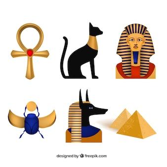 Dioses y símbolos egiptos