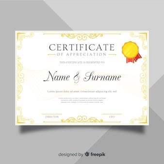 Diploma de agradecimient