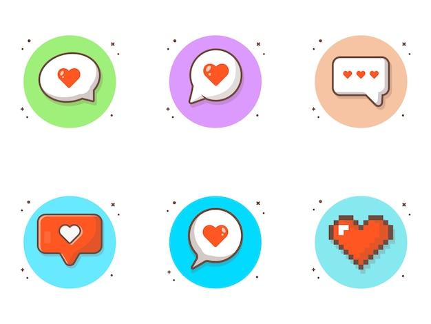 Discurso de amor en burbuja