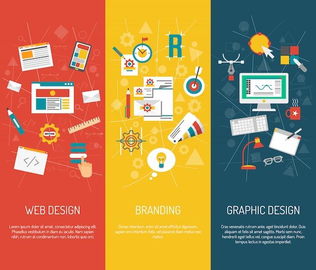 Diseñador banner set