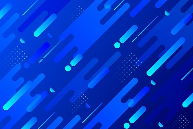 Diseño abstracto clásico fondo azul