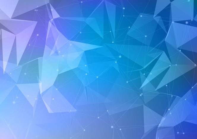 Diseño abstracto de baja poli