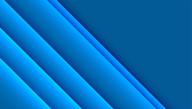 Diseño abstracto de estilo empresarial azul profesional moderno