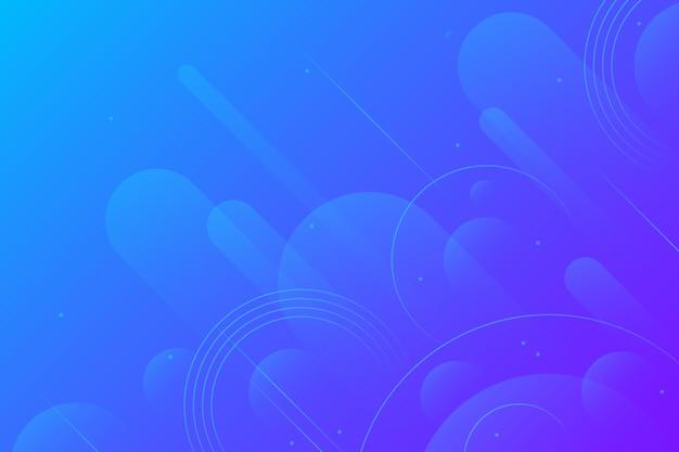 Diseño abstracto fondo azul