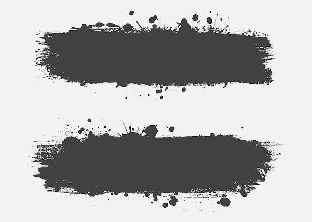 Diseño abstracto del fondo de la salpicadura del grunge