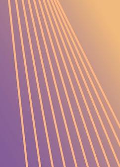 Diseño abstracto minimalista