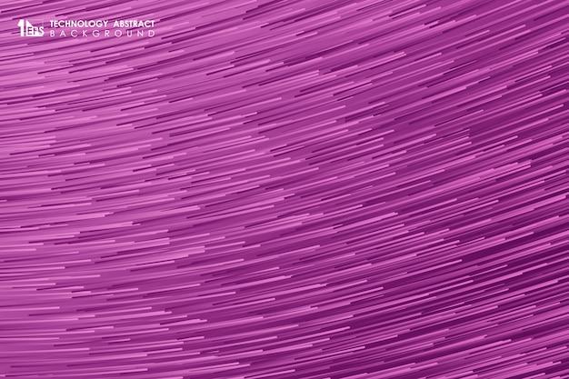 Diseño abstracto del modelo de la línea de la raya del gradiente del fondo futurista de las ilustraciones.