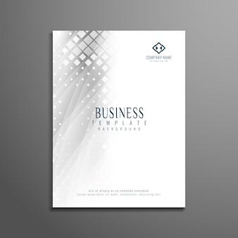 Diseño abstracto moderno de folleto de negocios